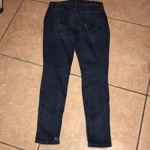 Current/Elliott Jeans - Current/Elliott Distressed Skinny Jeans Size 24